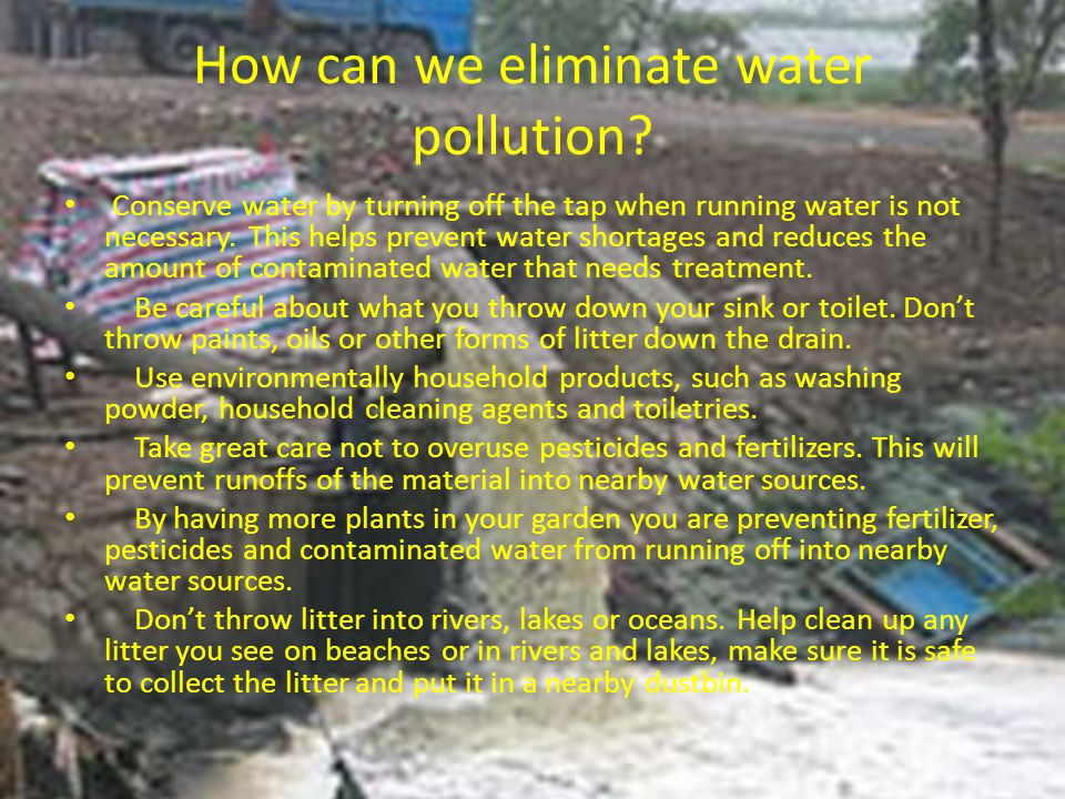 What is water conservation.
