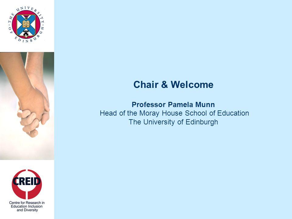 Promoting Inclusion & Diversity at the University of Edinburgh Professor Vicki Bruce Head of College, School of Humanities & Social Science The University of Edinburgh