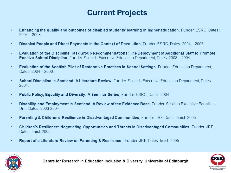 Questions Professor Pamela Munn Head of Moray House School of Education University of Edinburgh