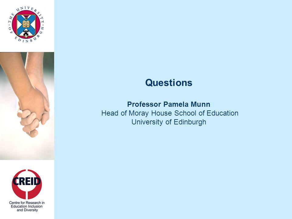 CLOSE Professor Sheila Riddell Director of CREID University of Edinburgh