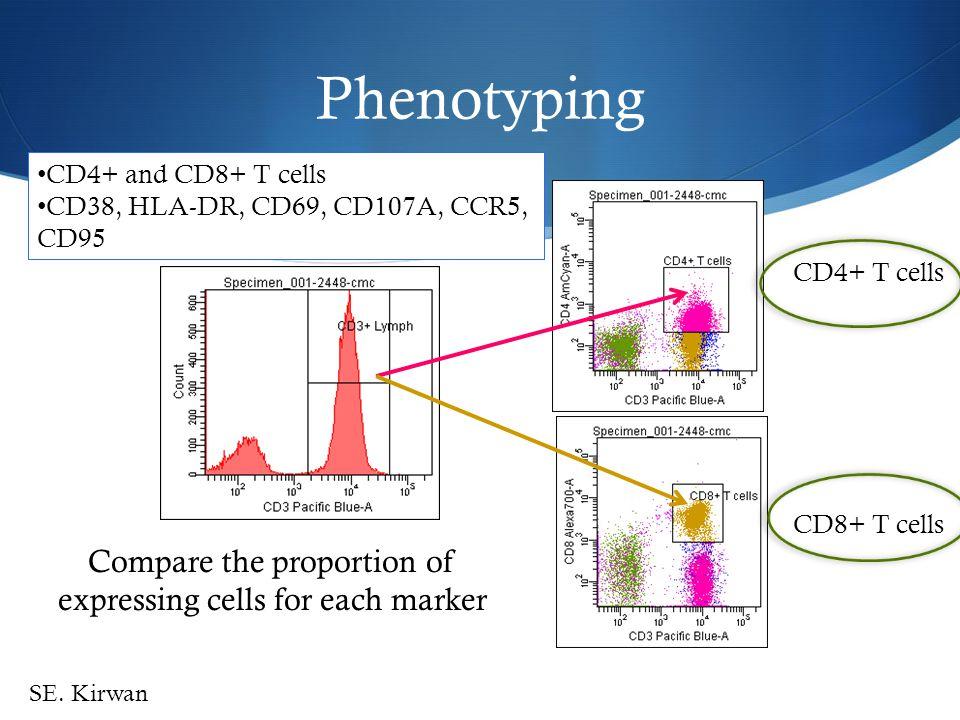 Impact of Sex Work CD4+ T cellsCD8+ T cells Vaginal Mucosa : HIV+ P=0.030P=0.016 P=0.0018