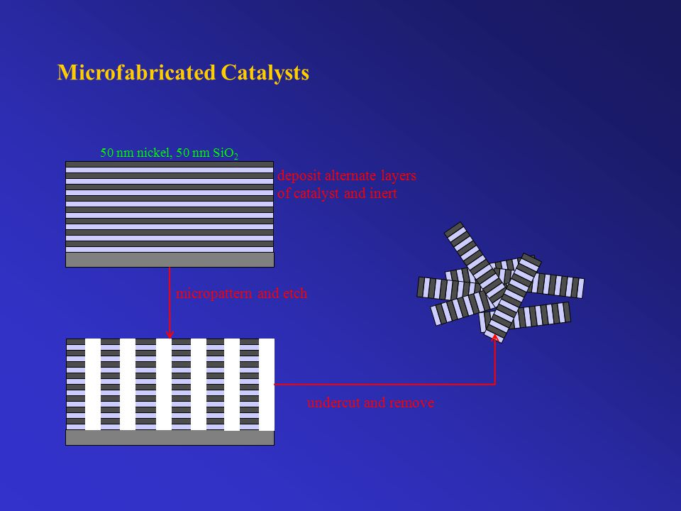 Supported Catalysts Metal supported on metal oxide Coarsening