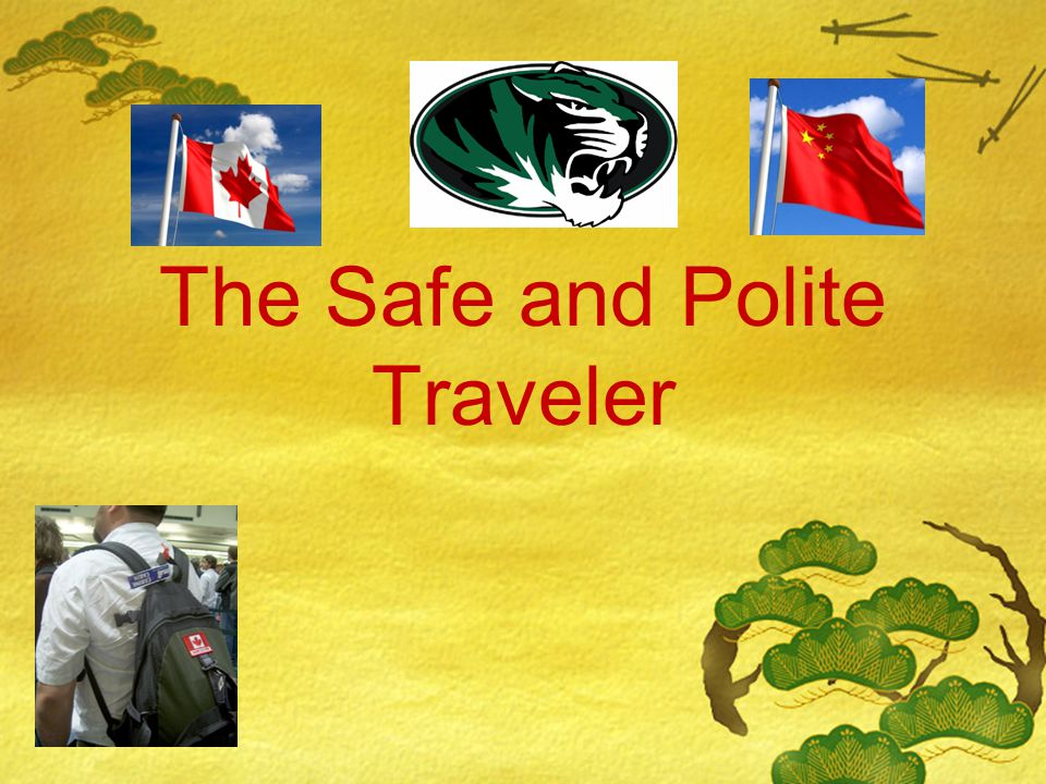 Overview  On the whole, travel to China remains incident-free.