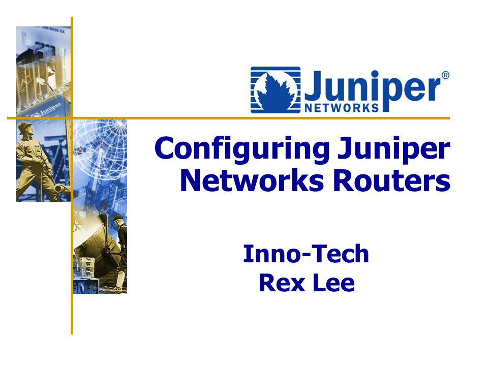 2 Agenda  Hardware Overview  JUNOS Software CLI Overview  Initial System Configuration  Routing Policy  OSPF  BGP