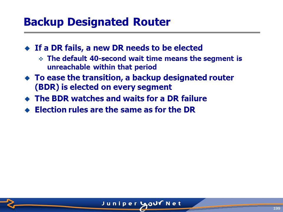 200 OSPF Neighbors vs.