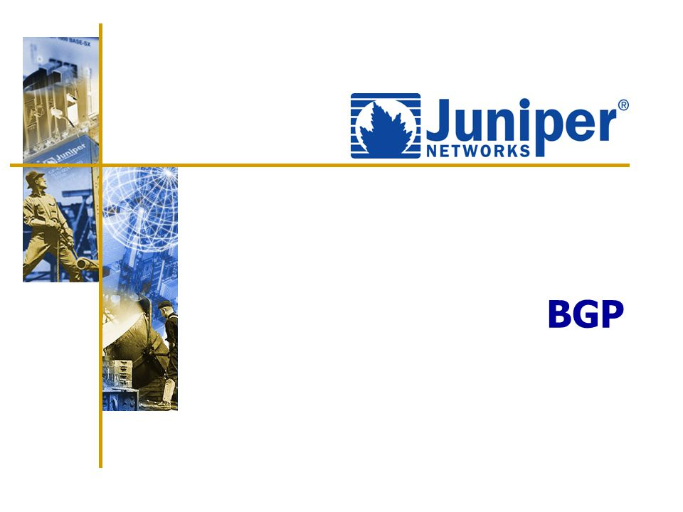 234 Agenda: BGP  JUNOS software support for BGP  Basic BGP configuration  Monitoring BGP operation