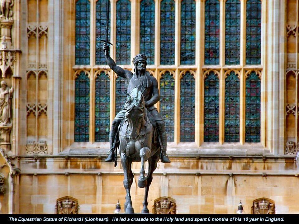 The Equestrian Statue of Richard I (Lionheart).