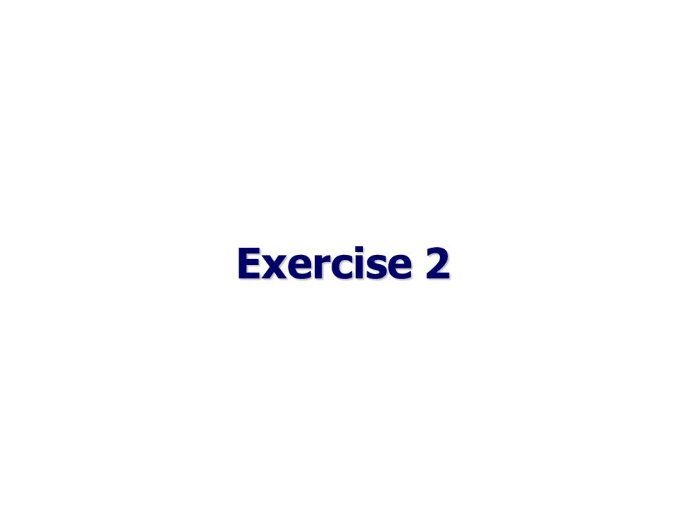 EXERCISE 2 1.sing 2.love 3.scratch 4. hit 5. touch 6.