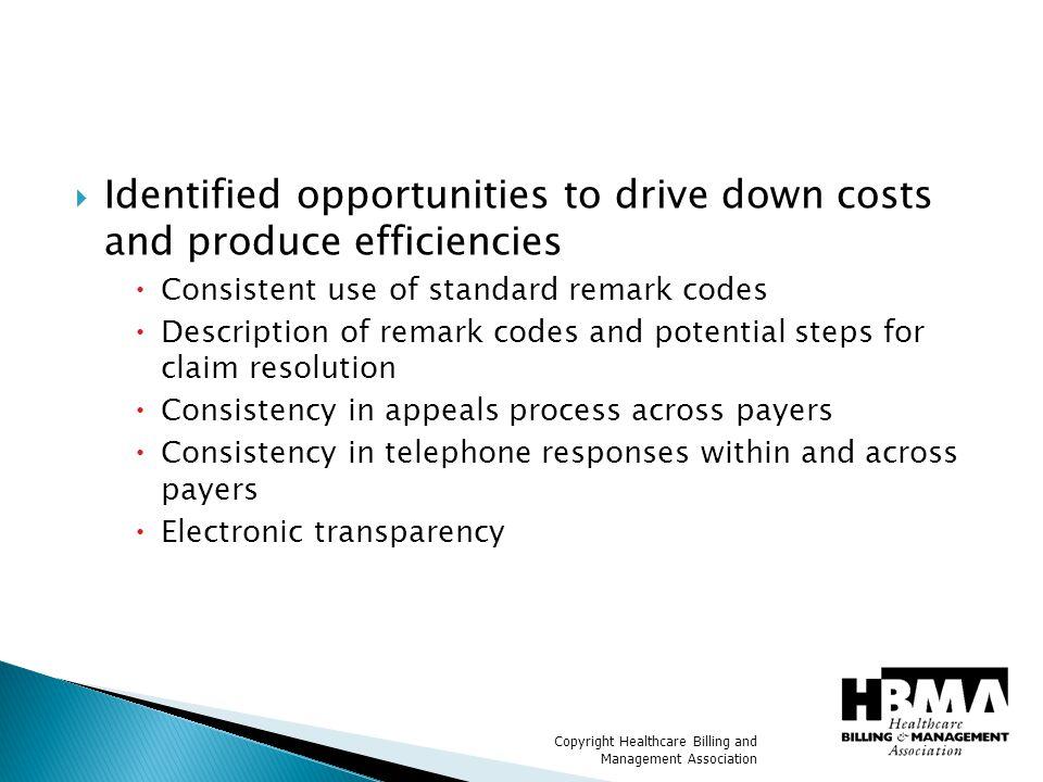 Copyright Healthcare Billing and Management Association Question.