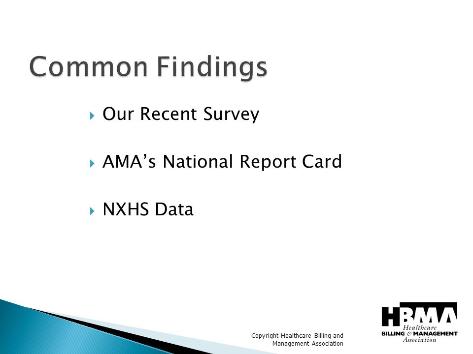 Copyright Healthcare Billing and Management Association What percentage of insurance companies provide more than half their denial information using HIPAA standard denial codes.