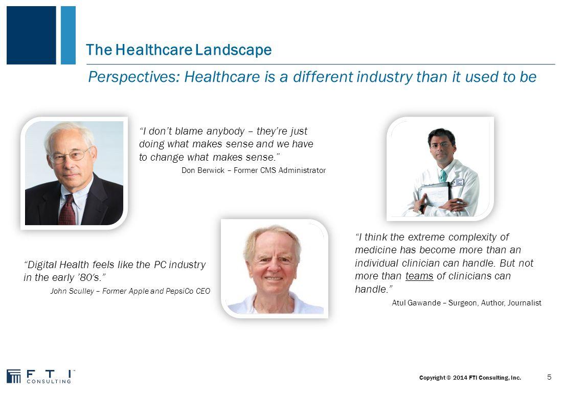 The Healthcare Landscape The U.S.