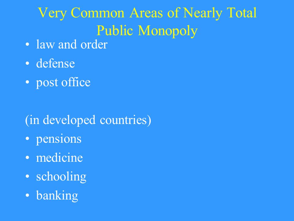 Measuring the Size of Government Public enterprises (ie, public provision of private goods).