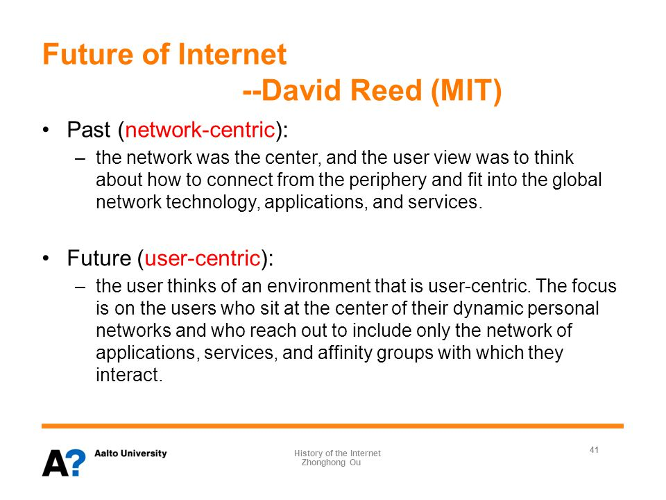 References Kleinrock L (2010) An early history of the internet [History of Communications].