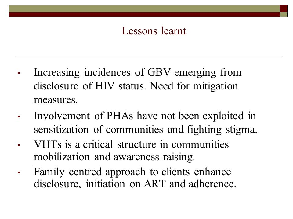 Priority areas up to Dec 2009 Counseling and testing, provision of ARVs to +ve mothers, EID.