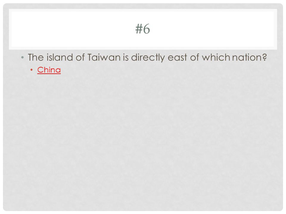 #7 How have China, Japan, and South Korea been affected by cultural diffusion.