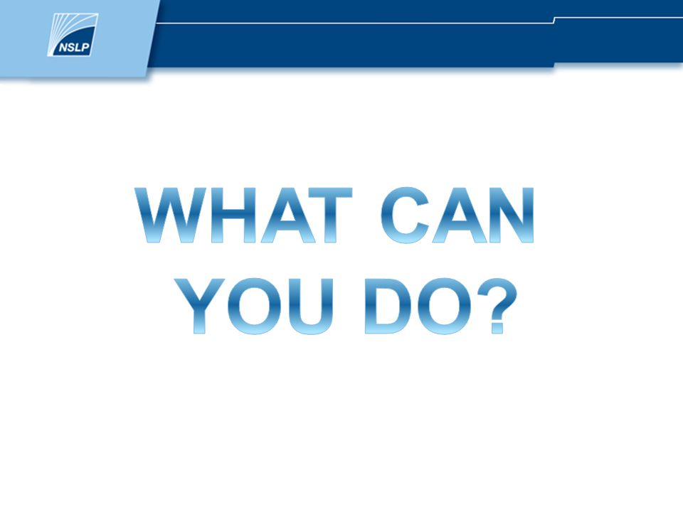 What can you do.