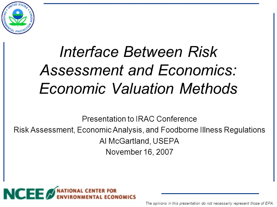 2 1990s Evolution of Risk Assessment at EPA 1970s  beginnings of the field of risk assessment  emphasis on oral route per FDA precedent 1980 s  adopt RA/RM paradigm  guidelines & basic methodologies  data bases (IRIS)  new tools/data bases  refinement of existing tools  understanding mechanisms of action/interactions  ecological assessment 2000s  complex mixtures  sensitive subpopulations  non-linear dose-response  input into economic analysis