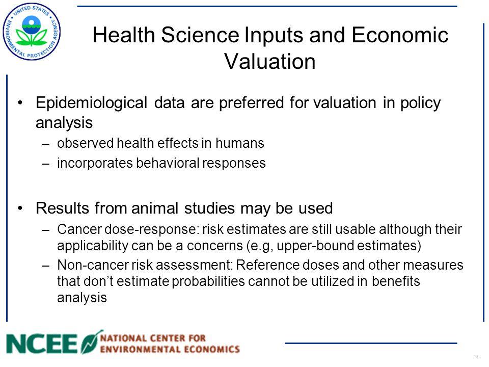 8 Cancer vs. Non-Cancer Benefits
