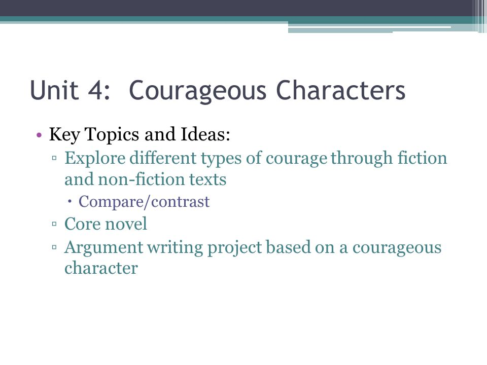 Unit 5: Figure it Out Key Topics and Ideas: ▫Using textual clues to understand nonsense poems ▫Inductive and Deductive reasoning ▫Using inductive and deductive reasoning in reading mysteries ▫Core Novel ▫Writing a mystery