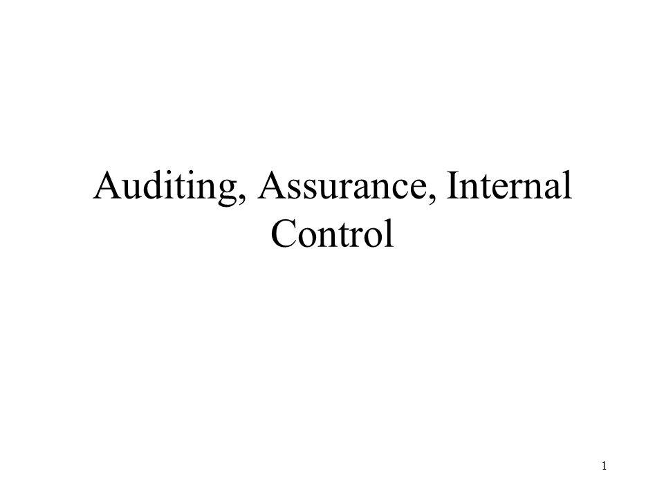 2 Contents Attestation & assurance Services Financial audit Auditing standards External vs.