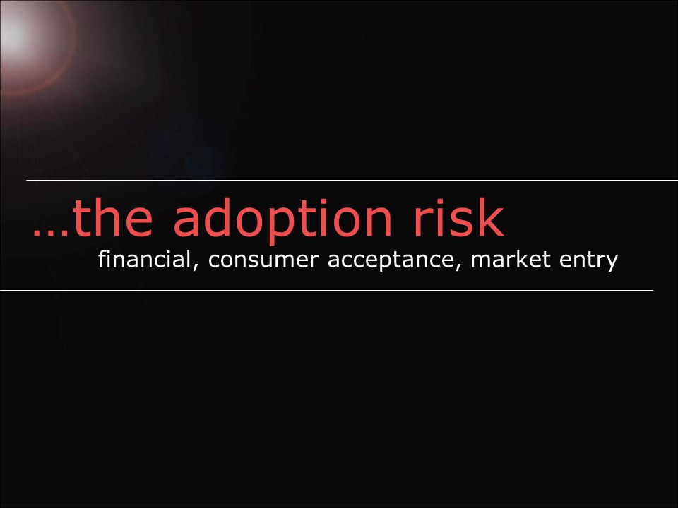 adoption risk - $2,500 nano Internal combustion engine or or Hydrogen / electric?