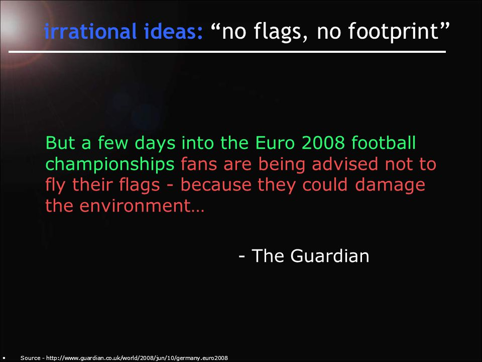 irrational ideas: Shell's sustainable tar sands Source – http://www.guardian.co.uk/environment/2008/aug/13/corporatesocialresponsibility.fossilfuels UK advertising authority: Shell mislead public by claiming tar sands as sustainable source!