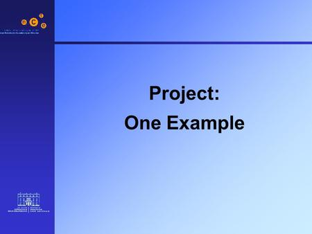 Project: One Example. 2 Orla is a 14 year old in second year with learning difficulties. She receives assistance from the learning support teacher. She.