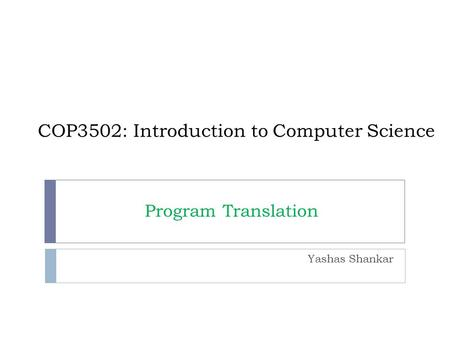 introduction to computer science and program This course is the first of a two-course sequence: introduction to computer  science and programming using python, and introduction to computational  thinking.