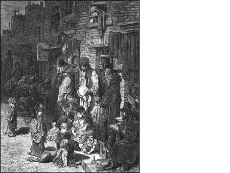 Working Class Life in Victorian London In the nineteenth century there were developments in technology that meant many people stopped working on the land.