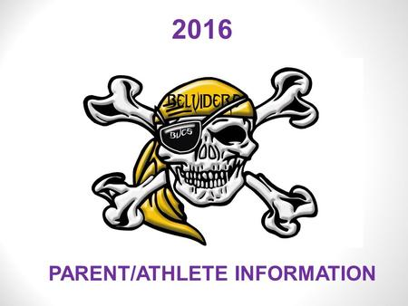2016 PARENT/ATHLETE INFORMATION. DISTRICT 100 HIGH SCHOOL ATHLETICS PARENT/ATHLETE MEETING 2016-2017.