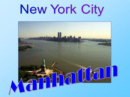 New York City is a city in the southern end of the state of New York, and is the most populous city in the United States of America. New York City is.