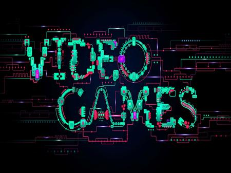 What is a video game? video game – an electronic game in which players control actions on a screen by using human interfaces to produce the game's narrative.