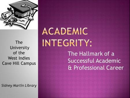 univ103 academic and professional success