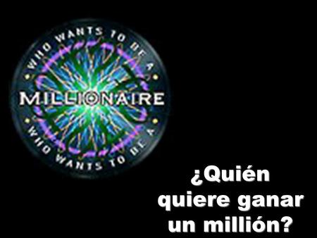 ¿Quién quiere ganar un millión?. €100 Como pizza B – I like pizza. A – I eat pizza. C – I don't like pizza. D – I eat crisps.