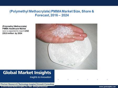 Polymethyl Methacrylate (PMMA) Market Worth $16 Billion By 2025