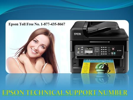 . Epson Printer Customer Support Number . . .