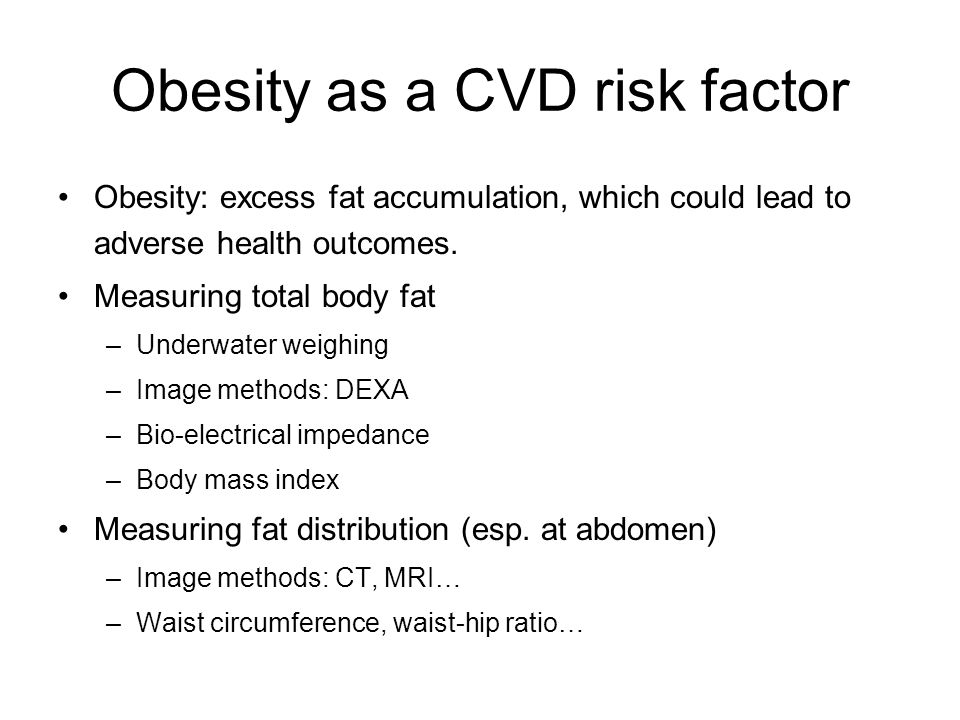 Total fat vs.