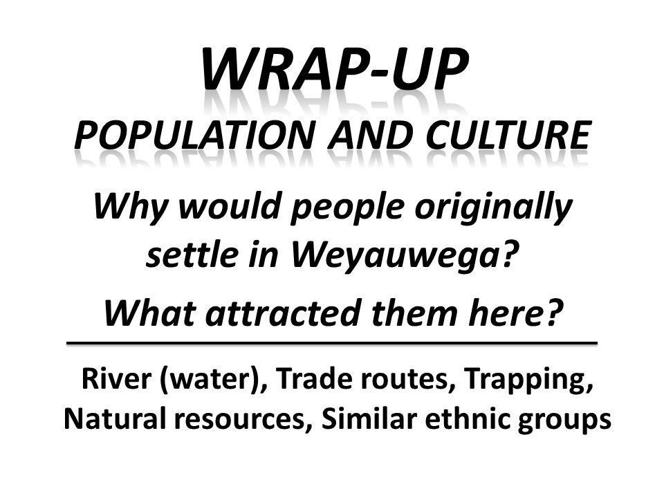 Think about it…..Why are the densest concentrations of people in urban areas.