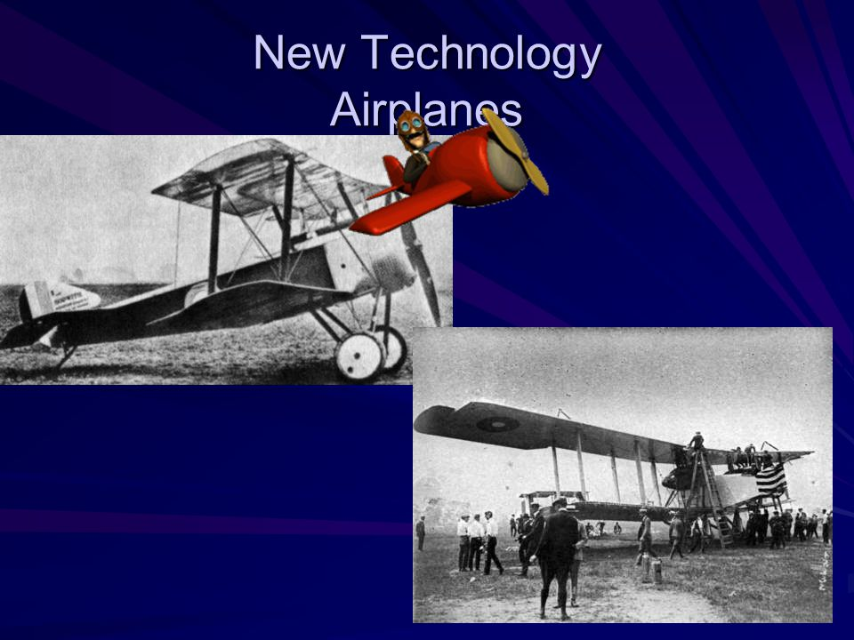New Technology Airplanes