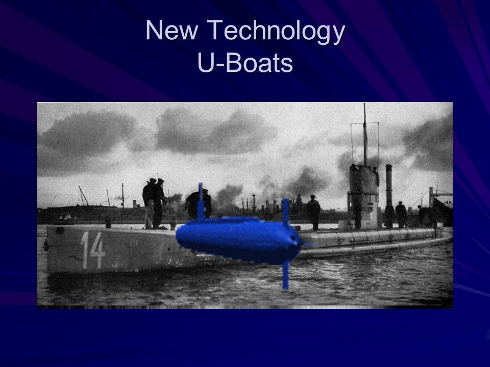 New Technology U-Boats