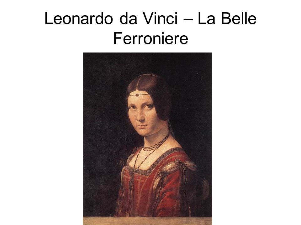 This is one of only four portraits of women by Leonardo da Vinci.