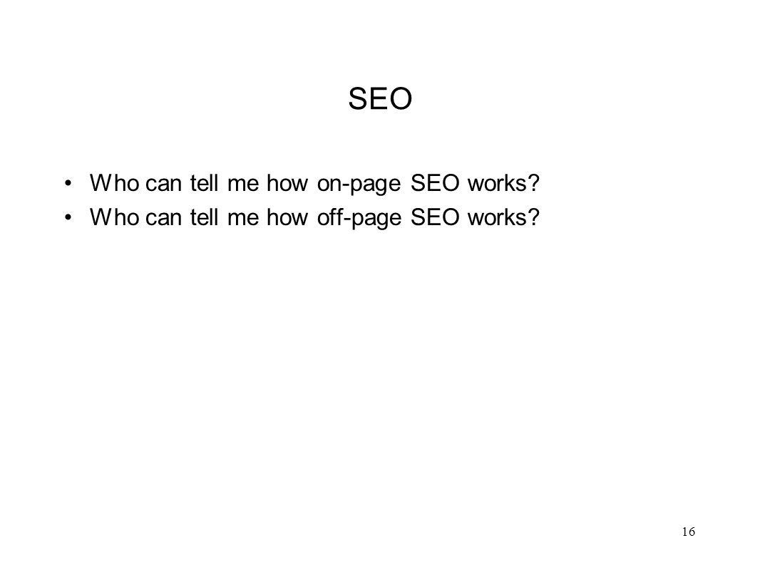 On-Page SEO Elements 17 #2 Page Title Domain H1 Body Content Alt TextFile SizeFile NameCaptions