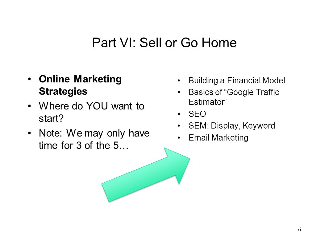 Building a Basic Financial Model How many have built a financial model that accounts for variables, constants and calculates projected ROI, prior to launching an online marketing campaign.