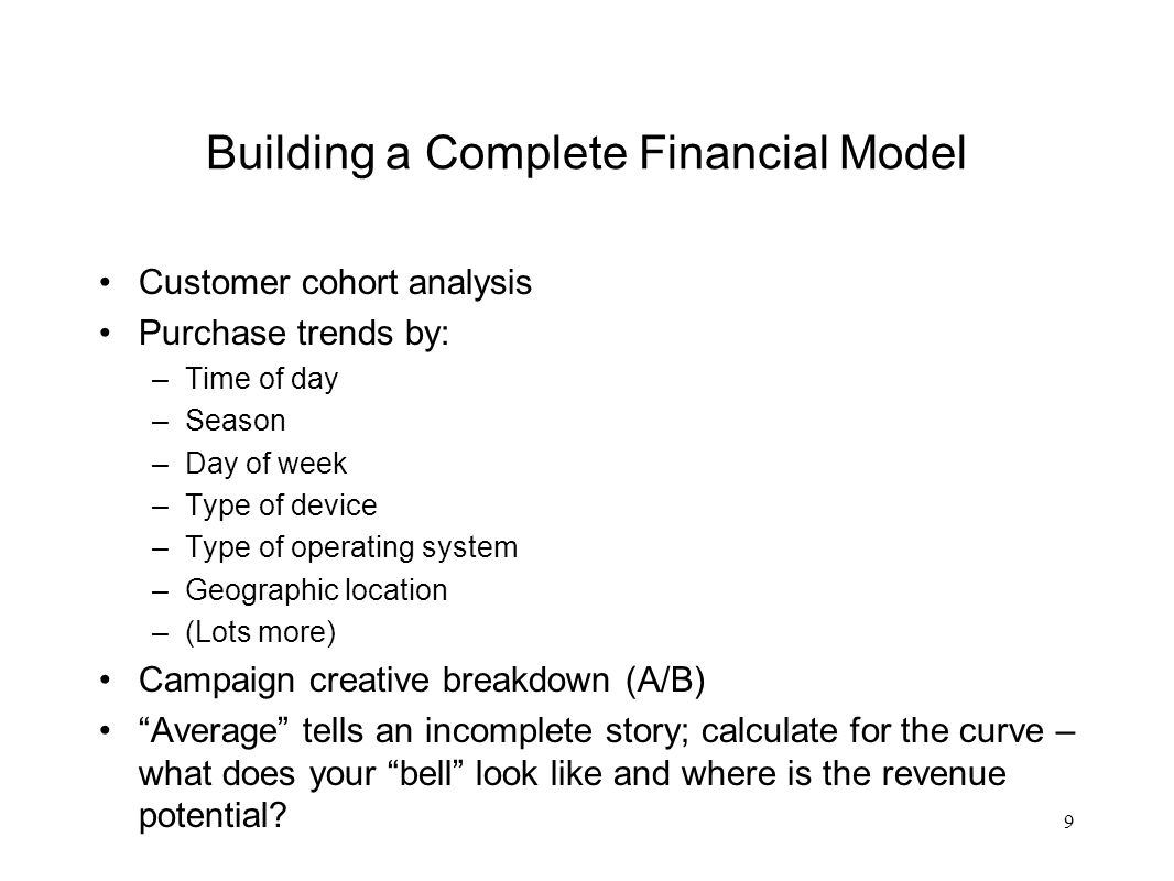 Example 10 % of Revenues Represented by Customers All Customers that Buy Your Product