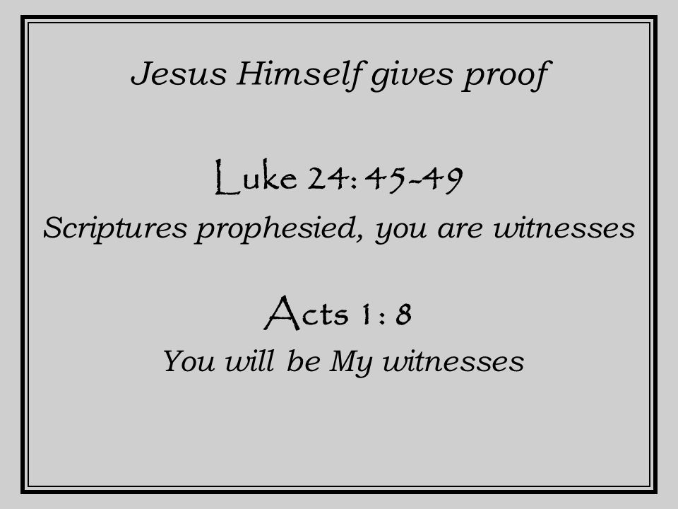Acts 1: 21-22 A replacement for Judas Qualifications.