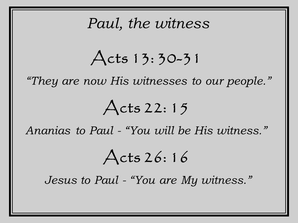 I Peter 5 : 1 Peter, the witness a witness of Christ's sufferings. II Peter 1: 15-18 After I am gone, I want you to remember… We were eyewitnesses of His majesty. We ourselves (Peter, James, John) heard this voice that came from heaven.