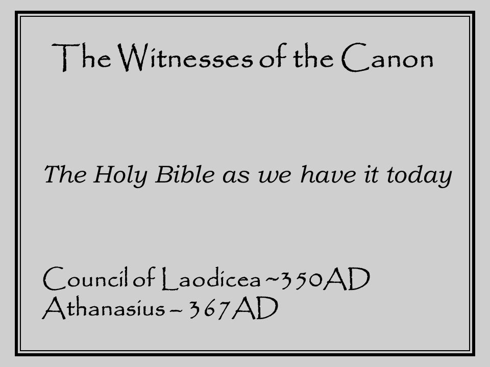 The Witnesses Testify Suppose that the New Testament had been destroyed, and every copy of it lost by the end of the third century…?