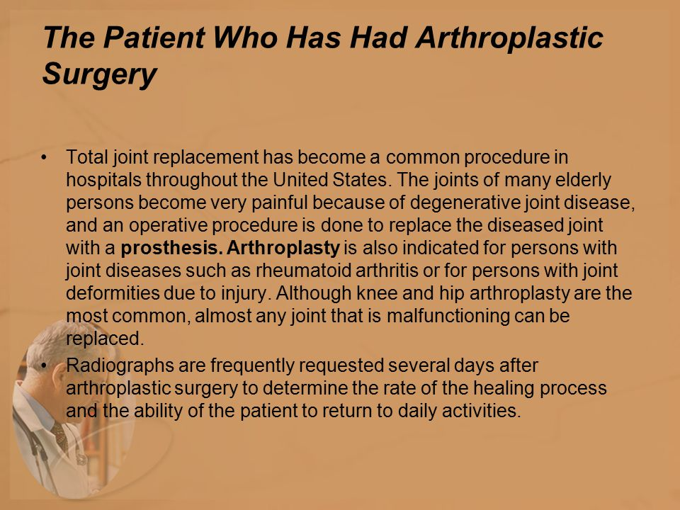 The most common complication after hip replacement is dislocation of the prosthesis.