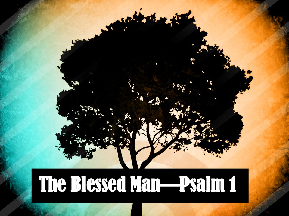 Psalm 1 How blessed is the man who does not walk in the counsel of the wicked, Nor stand in the path of sinners, Nor sit in the seat of scoffers.