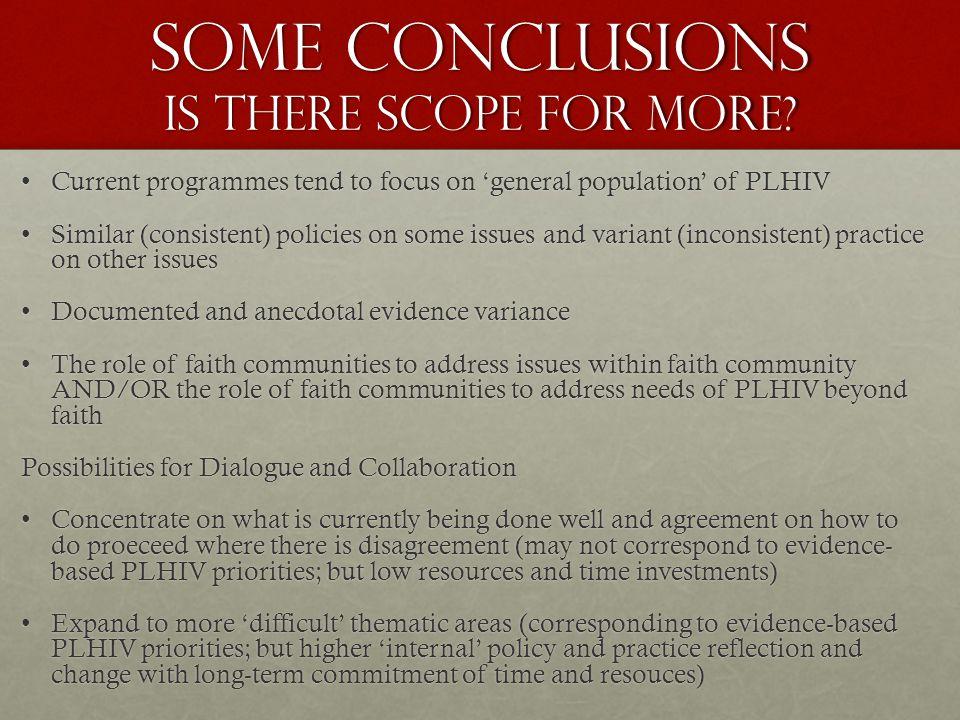 Determining scope of dialogue SurveySurvey What do PLHIV need as priorities.